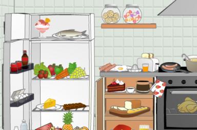 Игра «Food and Drink» на английском онлайн
