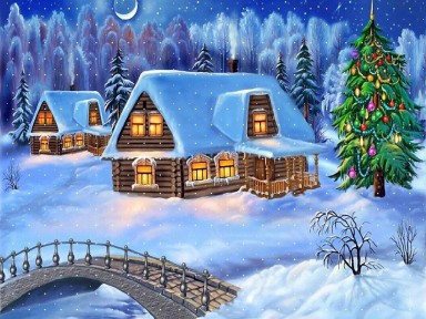 Стихи про Новый год и зиму на английском языке