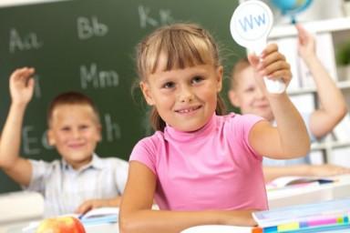 Первый урок английского у дошкольников