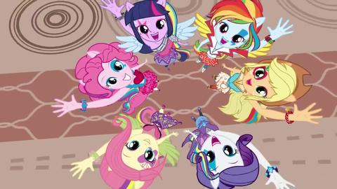 Equestria Girls — На английском текст песни