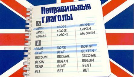 Как легко и быстро выучить английские неправильные глаголы ребенку