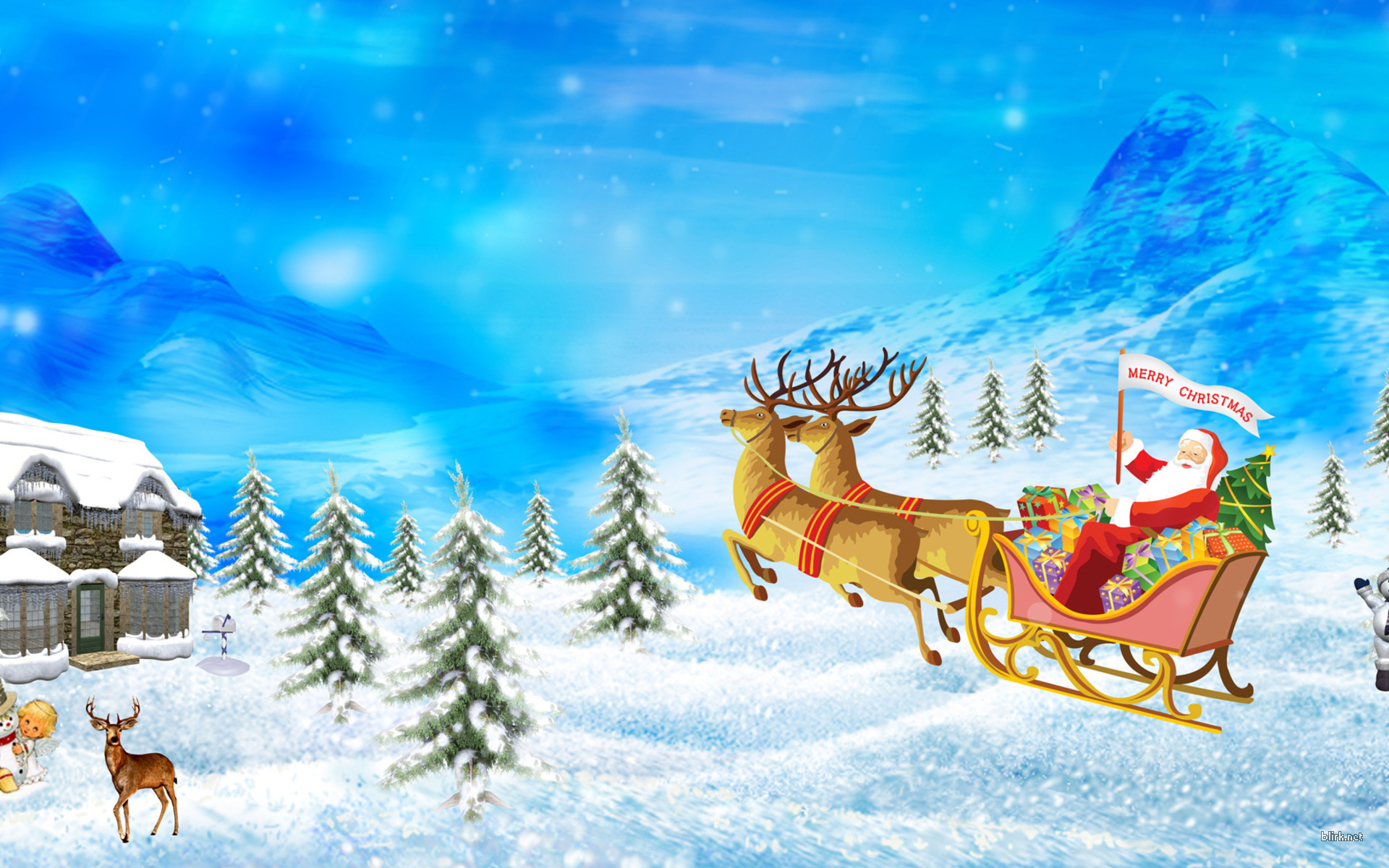 Песня Jingle Bells на английском: видео с текстом (субтитрами)