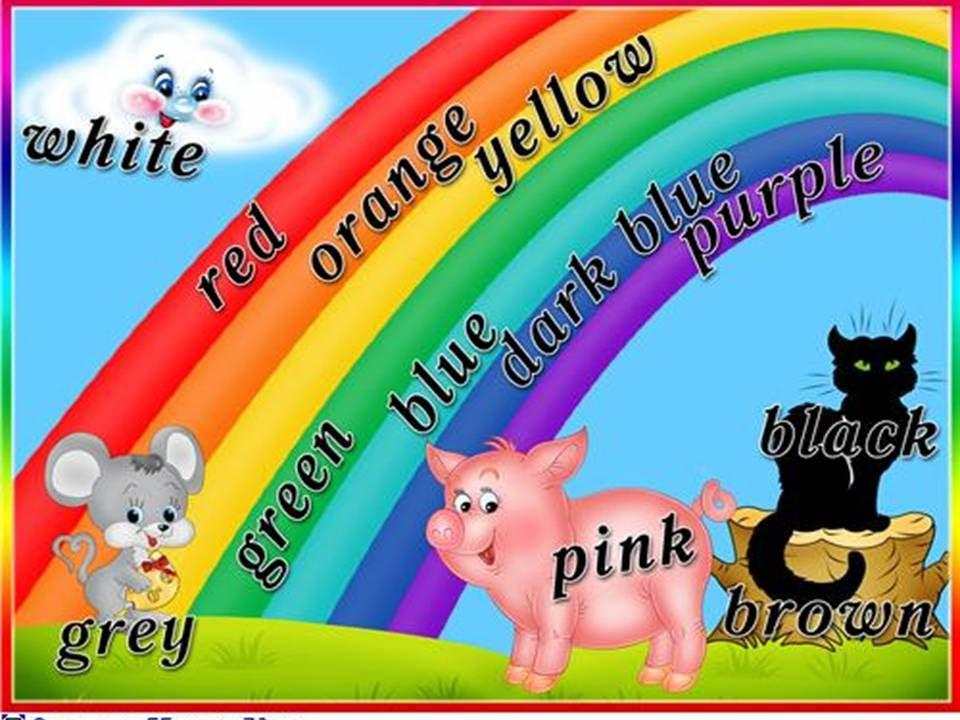 Выучить цвета на английском легко! Цвета на английском для детей