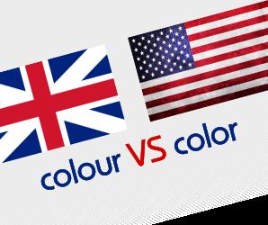 color или colour как правильно?